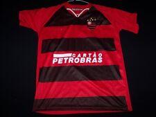 Flamengo Soccer Jersey FC Brazil Football Club Cartao Petrobras shirt sizeM