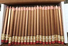 36 Gold Half mini short small hexagon Golf #2 Pencils ExpressPencilsTM