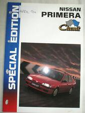 Nissan Primera Circuit Special Edition brochure Apr 1994