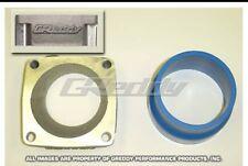 Greddy 13920450 Throttle Body Adaptor for Nissan RB25DET R33 Intake fits OEM TB