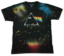 Pink Floyd Dark Side of The Moon Splatter T-Shirt Rock Music Tee New Vintage