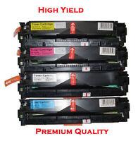 4PK Combo (BK,C,M,Y) CF210X (CF210A),CF211A,CF212A,CF213A for HP 131X,131A