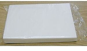 """Edible Rectangle Rice and Wafer Paper, 8"""" x 11"""" White, 100 Count, Bakery Crafts"""