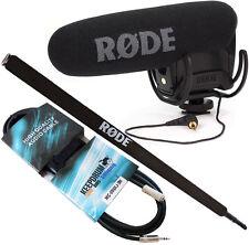 Rode Videomic Pro Rycote + Micro Boompole +KEEPDRUM Miniklinke 3m