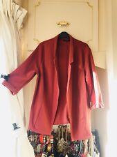 bfce3bbed117e EX NEWLOOK TAN BROWN BLAZER JACKET Dress Size 22 24 BNWOT £30