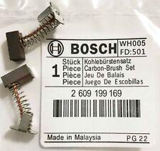 Genuine Bosch Carbon Brushes 2609199169 GDR18V-Li Impact Driver GDR 18V Li S21G