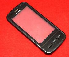 Original Nokia C6-00 Cristal Pantalla Táctil Digitador Marco Incl. Auricular