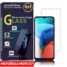 """Vitre Protecteur d'écran Film Verre Trempe pour Motorola Moto E7 6.5"""" XT2052-1"""