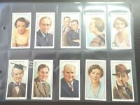 1934 Wills RADIO CELEBRITIES series 2 Tobacco cards complete EX+.  50 card set