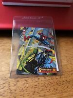STAN LEE AUTOGRAPHED SPIDER-MAN LEAP POWERS#8 CARD WITH COA