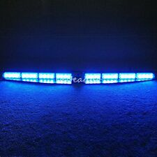 Led Warning Strobe Visor Light Split Mount Deck Dash 32 LED Lightbar