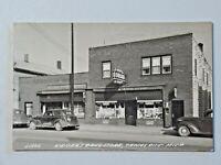 Keiser's Drug Store, Tawas City MI Vintage Cars Street Scene 1948 Post RPPC 6975