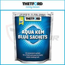 THETFORD AQUA KEM BLUE SACHETS PORTABLE CARAVAN TOILET CHEMICALS SATCHELS POTTI
