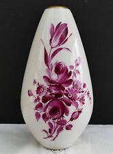Vase von KPM 50er Jahre Entwurf H. Griemert handbemalt von Karl Karrer Konstanz