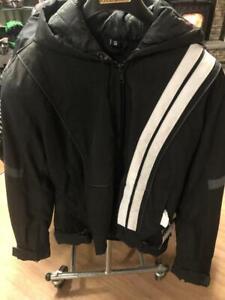Textile VA VA Vroom woman's jacket, with hood, BLK, SM - price reduced!