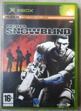PROJECT SNOWBLIND MICROSOFT XBOX TBE VERSION FRANÇAISE.