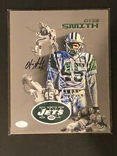 New York Jets, Otis Smith signed custom 8x10 w/JSA