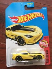 2017 HOT WHEELS 2013 SRT VIPER THEN AND NOW #10/10 YELLOW