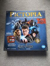 Harry Potter Pictopia Board Game - Ultimate Picture Trivia Family Game USED ONCE
