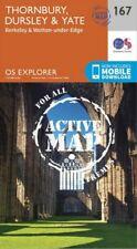 OS Explorer Map 167 Thornbury, Dursley & Yate  - Active Map