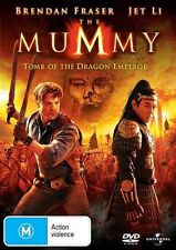 Mummy, The Mummy: Tomb of the Dragon Emperor NEW R4 DVD