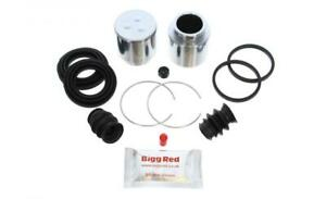 for MITSUBISHI EVO 1,2,3 FRONT L or R Brake Caliper Seal Kit +Pistons (BRKP55S)