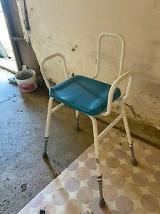 Shower Seat Chair with Arms Adjustable Height