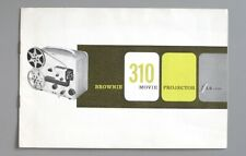 Instruction Manual for Kodak Brownie 310 Movie Projector