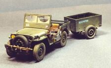 Resicast 1/35 Airborne Standard Jeep And Trailer Conversion (for Tamiya) 351147