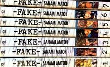 Fake by Sanami Matoh, V.1-7, Complete Yaoi Manga/Graphic Novel Set in English!