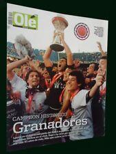 LANUS Champion 2007 RARE OLE Magazine - Football Soccer Argentina