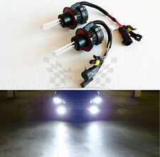 H13 9008 6000K Crystal White AC 35W Bi-Xenon H/L HID Replacement Bulbs Dual Beam