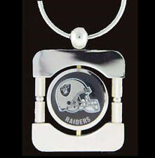 Oakland Raiders Executive Silver Keychain  [NEW] NFL Car Auto Key Chain CDG