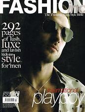 Fashion inc Magazine #01 JOHAN SAMUELSSON Jamison Scott SAFFRON ALDRIDGE
