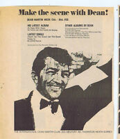 DEAN MARTIN press clipping 1967 18X14cm (11/2/67)
