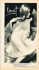 PUBLICITE ADVERTISING  1965   CANAT  nuistte chemise de nuit lingerie2