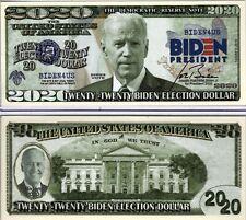 Joe Biden for President 2020 Novelty Money