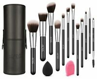 Make Up Brushes with Case, TheFellie Makeup Brush Set plus Brush Cleaner and