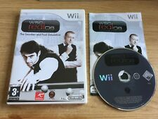 WSC REAL 08 WORLD SNOOKER CHAMPIONSHIP - NINTENDO WII