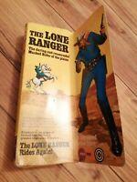 Marx Toys Lone Ranger Action Figure Vintage 1970's VGC Boxed Classic TV FREEPOST