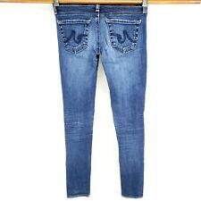 AG Adriano Goldschmied Women's Sz 24R Legging Ankle Super Skinny Jeans Low Rise