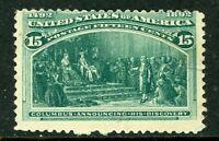 USA 1893 Columbian 15¢ Scott # 238 Mint I685
