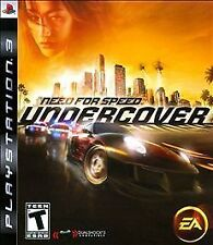Need for Speed: Undercover  (Sony PlayStation 3, 2008) Used