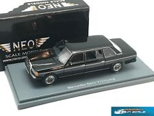 Mercedes Benz W123 Lang black 1978  NEO 44245 1:43