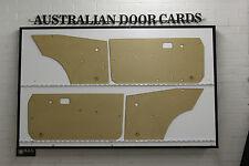 Mazda RX3 808 Coupe Door Cards 4 Blank Trim Panels. Mizer, Savanna GT S102 S124A