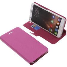 Funda para Oukitel K6000 Plus Book Style Protección teléfono móvil libro ROSA