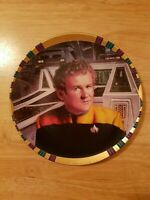 Star Trek Deep Space Nine Chief Miles O'Brien Limited Edition Licensed Plate!