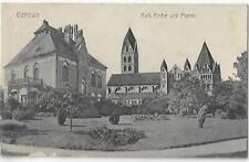 AK OSTROWO Bez. Posen- Katholische Kirche u. Pfarrei-Feldpost 1917 Gebrauchsspur