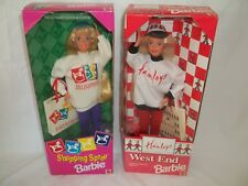1995 Hamleys Toy Shop West End & 1994 FAO Schwarz Shopping Spree Barbie.