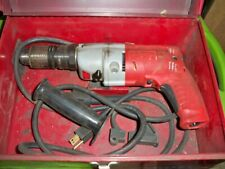 Milwaukee Heavy Duty Hammer Drill 12 Magnum 2 Speed Model 5370 1 With Case